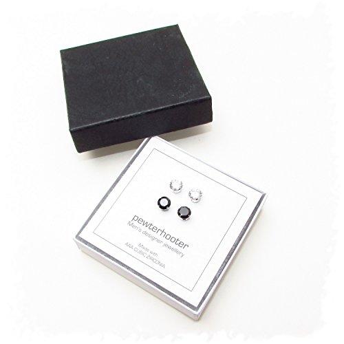 genial herren ohrstecker zirkonia schwarz schmuck website. Black Bedroom Furniture Sets. Home Design Ideas