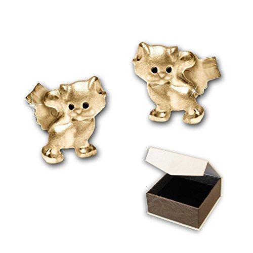 kinder ohrstecker in gold. Black Bedroom Furniture Sets. Home Design Ideas