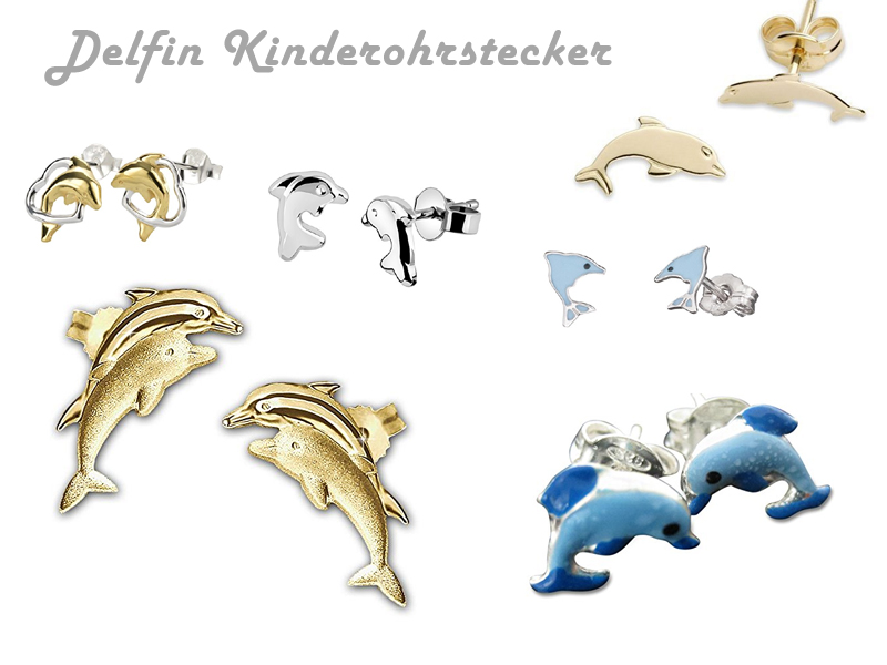 Delfin Kinderostecker